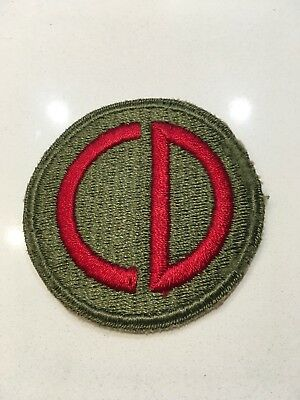 FULL COLOR 85TH INFANTRY DIVISION PATCH
