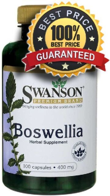 Boswellia 400 mg x 100 Capsules Inflammation ** AMAZING PRICE **