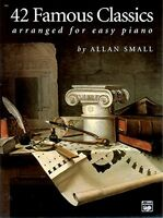 42 Famous Classics For Easy Piano By , (paperback), Alfred Music , New, Free Shi on sale