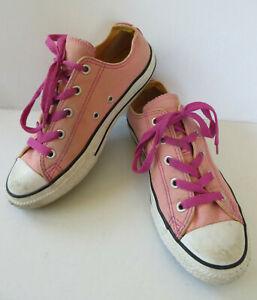 Details zu org. CONVERSE ALL STAR Chucks Gr. 34 rosa Mädchen Schuhe Turnschuhe Sneakers