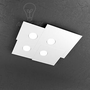 PLAFONIERA-TOP-LIGHT-MODELLO-PLATE-1129-PL4-BI-LED-GX53-36W-LUCE-CALDA-INCLUSO