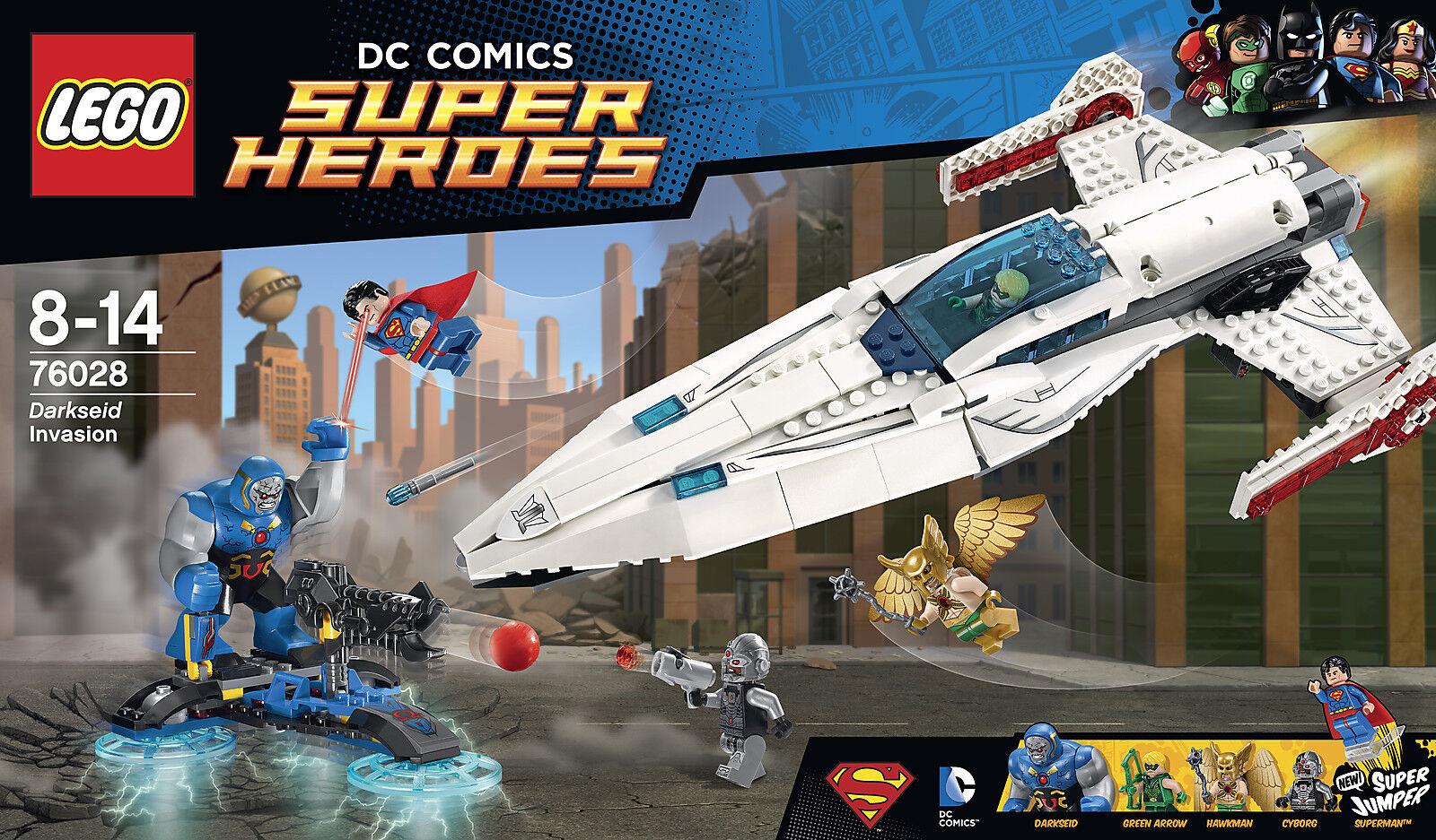 Lego DC Universe SUPER HEROS  Darkseids Überfall  76028  Spielzeug by Brand Toys