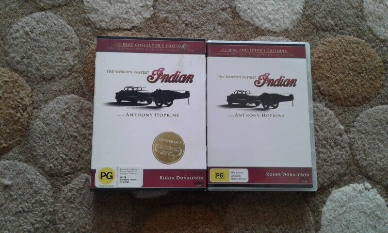 The worlds fastest Indian 2 disc collectors edition dvd for sale