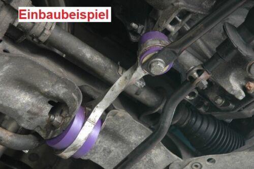 Powerflex PU moteur roulement RENAULT CLIO 2 Sport Phase 2 couple poteau pff60-211k