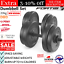 thumbnail 1 - 20KG Dumbbell Adjustable Weight Set Home Gym Core Fitness Space Saving Fortis AU