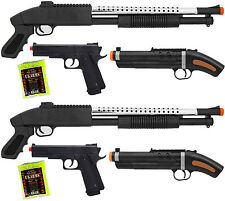 Shop-4-Airsoft *6 Pistol Guns* Tactical Dueling Setup with 2000 BBS - DUEL -