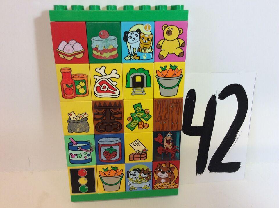 Lego Duplo, Billedklodser