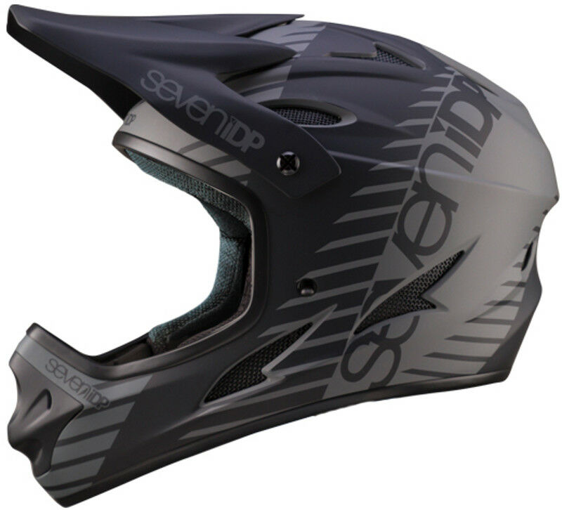 Seven 7IDP M1 Youth MTB Bike Helmet Tactic Matte negro Graphite