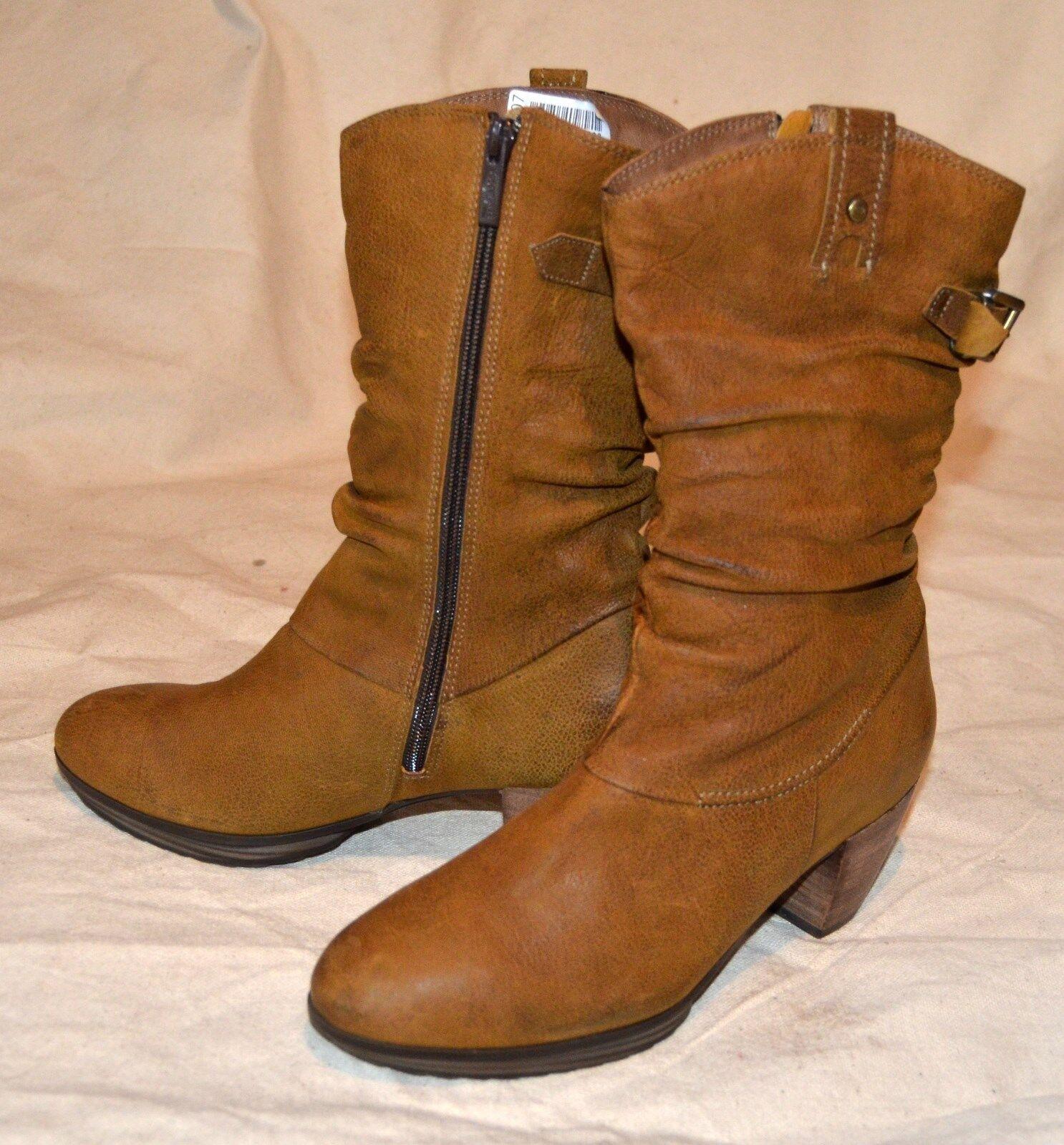 Softwaves botas talla noble 38,5 botas de invierno 100% cuero noble talla cómomujerte 179,- euro ms223 0dabaf