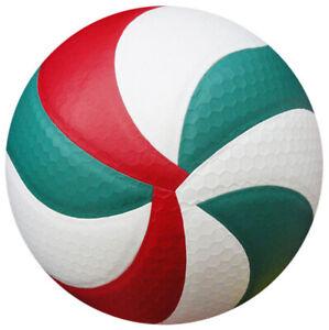 Officiel Molten V5M5000 Ballon de Volley UC Cuir Toucher Doux Intérieur/Extérieur Jeu