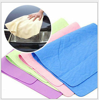 NEW 1pc x multi-purpose synthetic Large chamois towel Cache Absorbent towel 304