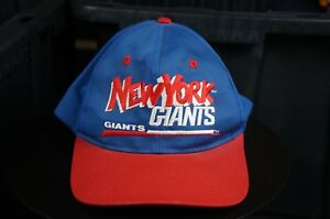 Rare Vintage EASTPORT New York Giants NFL Football Snapback Hat Cap ... 31fadd88c