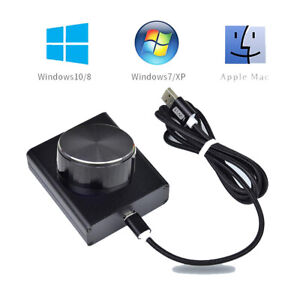 USB Volume Controller Audio Adjuster Video PC Computer Speaker Switch Control