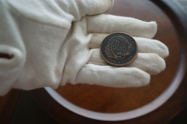 BANK OF MONTREAL CANADA 1842 ONE PENNY TOKEN