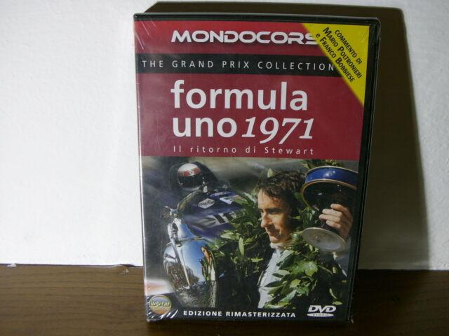 Formula Uno 1971 Mondocorse DVD IL ritorno di Stewart