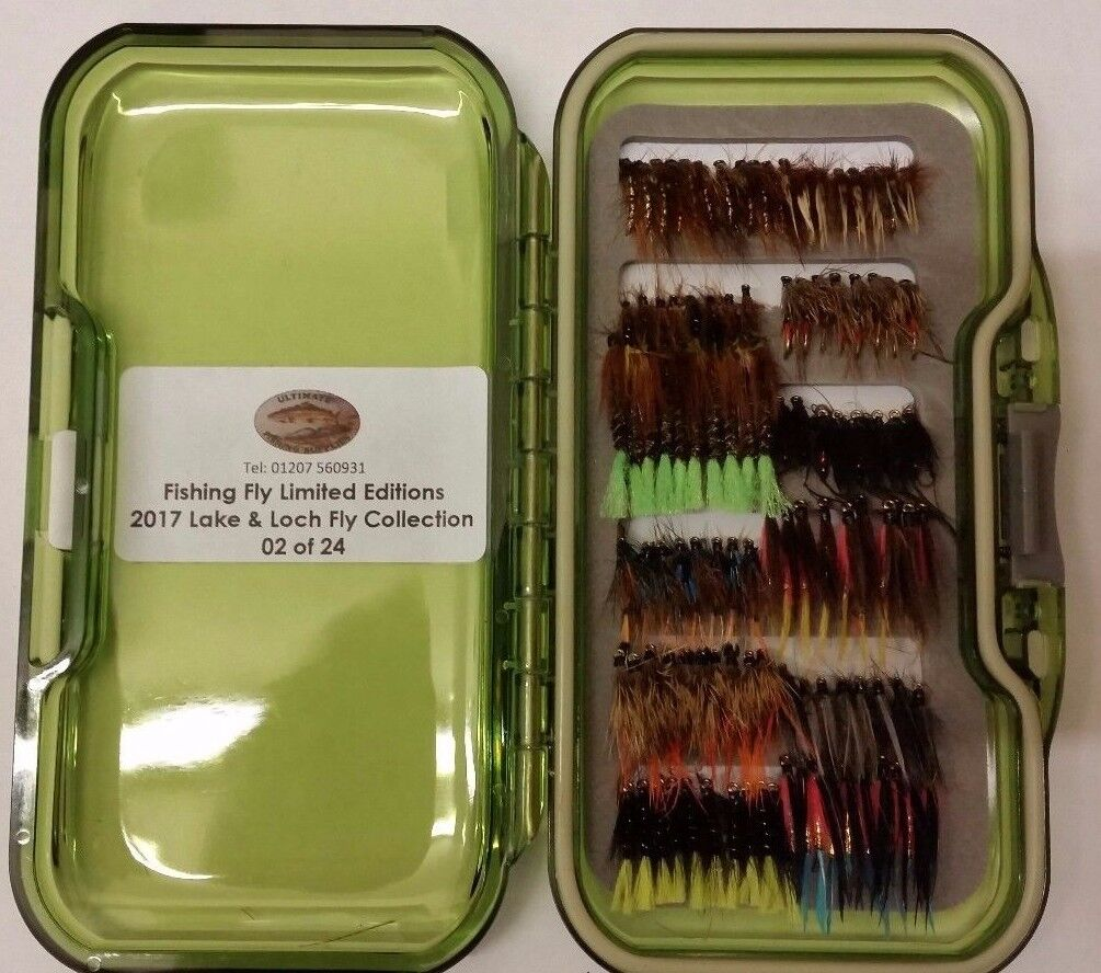 UFS LIMITED EDITION Fly Box of 24   2017 Lake & Loch Fly Collection