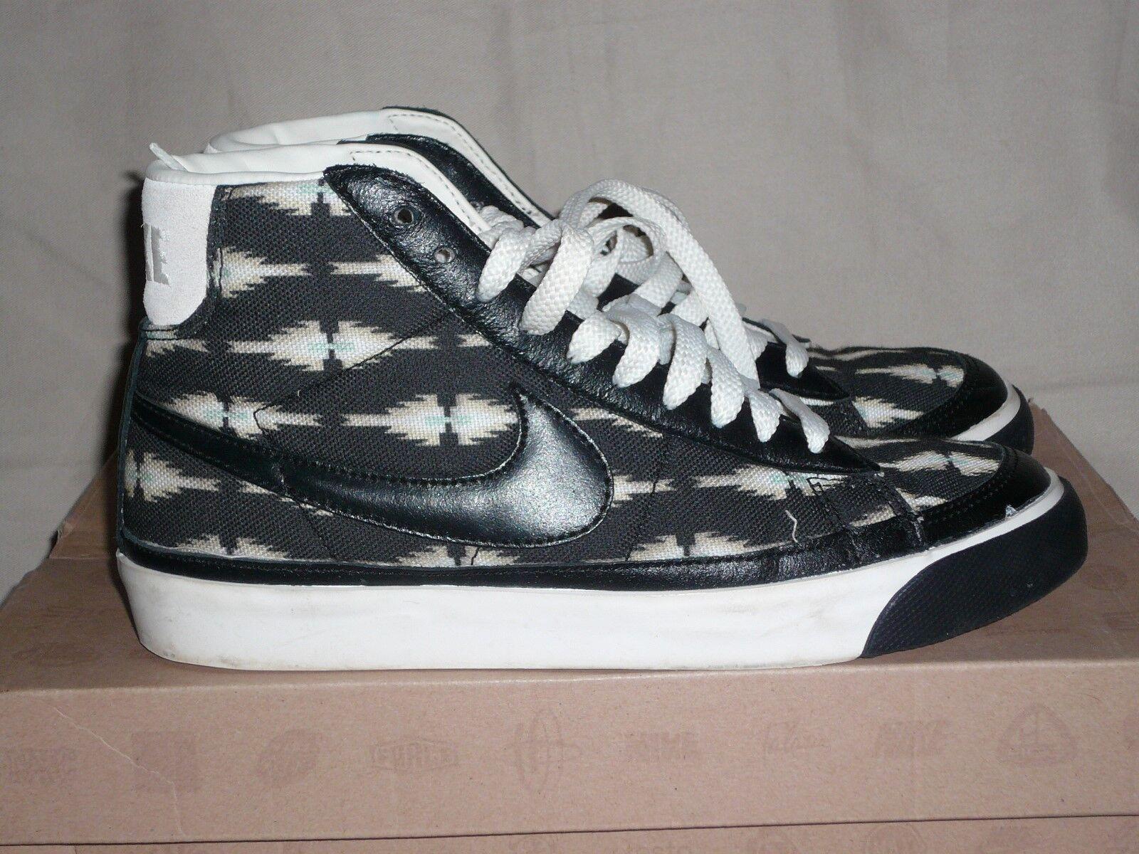 Nike Femme -375573-007 Blazer Mid, noir noir Baskets Turnchaussures UK 5