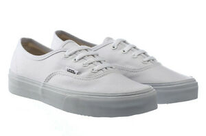 fd25e216009 NEW VANS AUTHENTIC TRUE WHITE SHOES KIDS US 2.5 UK 2 EUR 33 CM 20.5 ...