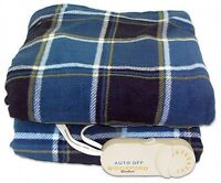 Heated Throw Warm Blanket Blankie Bed Bedclothes Sofa Cold Hot 50 By 62-inch