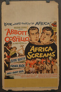 AFRICA-SCREAMS-1949-ORIGINAL-14X22-MOVIE-POSTER-BUD-ABBOTT-LOU-COSTELLO