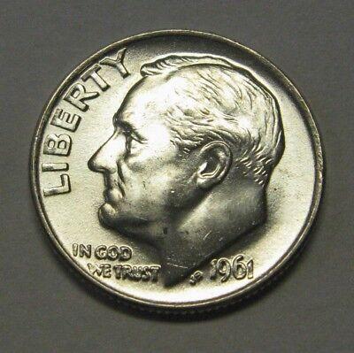 Gorgeous 1947-D Silver Roosevelt Dime Grading Choice Uncirculated  DUTCH