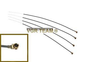 4X Ersatz Antenne 150mm 2,4GHz Empfänger Futaba,Spektrum,FrSky,usw.  3S-121 m4