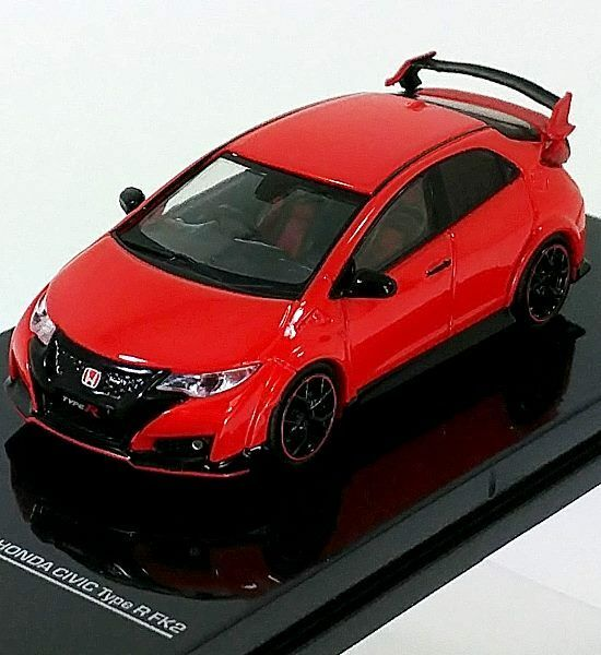 tarmac works 1 64 honda civic type r fk2 milano red. Black Bedroom Furniture Sets. Home Design Ideas