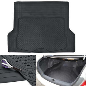 Cargo-Trunk-Floor-Mat-Liner-for-Car-SUV-Truck-All-Weather-Semi-Custom-Fit-Black