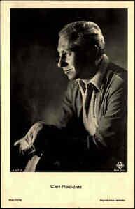 CARL-RADDATZ-Schauspieler-Portraet-AK-Buehne-Kino-Ross-Verlag-1930-Nr-3313-1