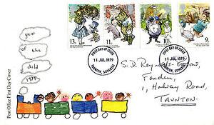 11-LUGLIO-1979-anno-internazionale-del-bambino-PO-PRIMO-GIORNO-DI-COPERTURA-Taunton-IED