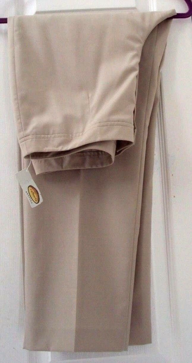 NEW TAG  TALBOTS 12P TAN BEIGE WOOL & SILK LIGHTWEIGHT LINED DRESS PANTS  118.00