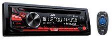 JVC KD-R780BT CD/MP3 Player Bluetooth iHeart Radio Pandora Front USB AUX Input