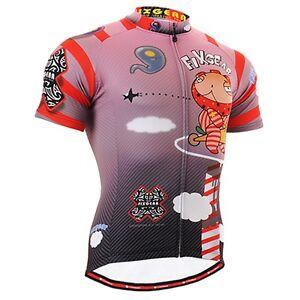 FIXGEAR CS-1602 Men's Short Sleeve Cycling Jersey Bicycle Apparel Roadbike MTB