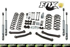 "1997-2006 Jeep 4"" TJ Wrangler Zone Suspension Lift Kit with Fox 2.0 IFP Shocks!"