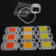 Led Cob Grow Chip Led Lens Reflector 50w 30w 20w 110v220v For Led Flood Light