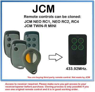 Mando a distancia JCM NEO RC1