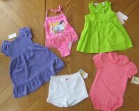 24 Month/ 2t Girl Summer Clothes Lot Swimsuit W/ Cover Dress Shorts $119
