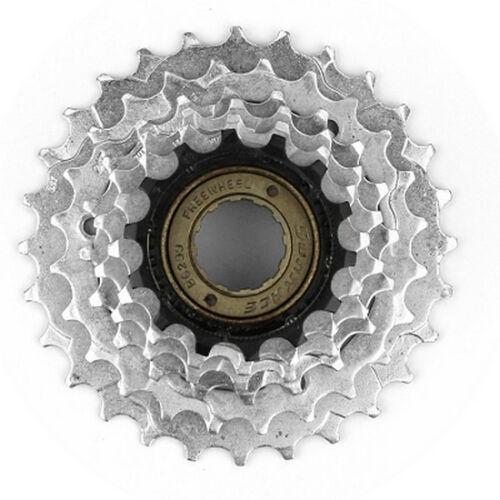 Freewheel 6 Speed 14-28 Sunrace Bike Pinion Steel Resistant Mountain Bike New