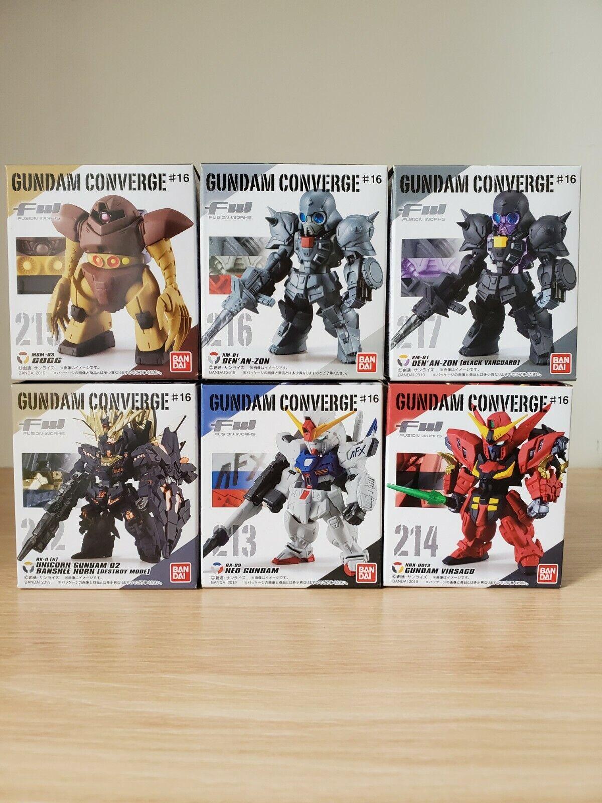 FW Gundam Converge Core Black Tri-Stars Zaku II /& Dom Set April Presale