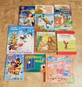 Lot-of-9-Board-Books-for-Children-039-s-Kids-Toddler-Babies-Preschool-Daycare