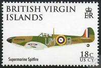 Supermarine SPITFIRE WWII Fighter Aircraft Stamp (2008 RAF 90th Anniversary)