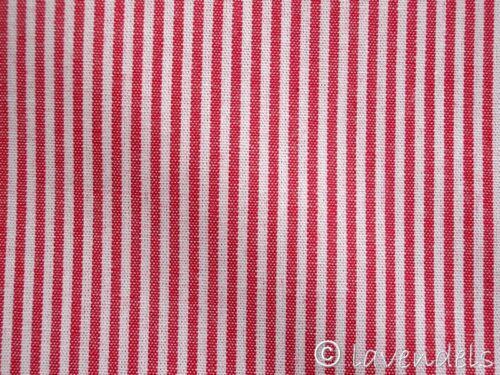 Tela de algodón ♥ rayas rojas ♥ a rayas 0,15 fino a rayas