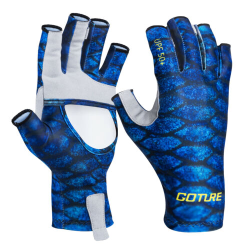 Goture Fishing Gloves Breathable Sun Protection Gloves Hunting Outdoor Sport