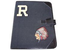 Ralph Lauren Rugby Canvas Portfolio Polo Varsity Indian Chief Black Nwt