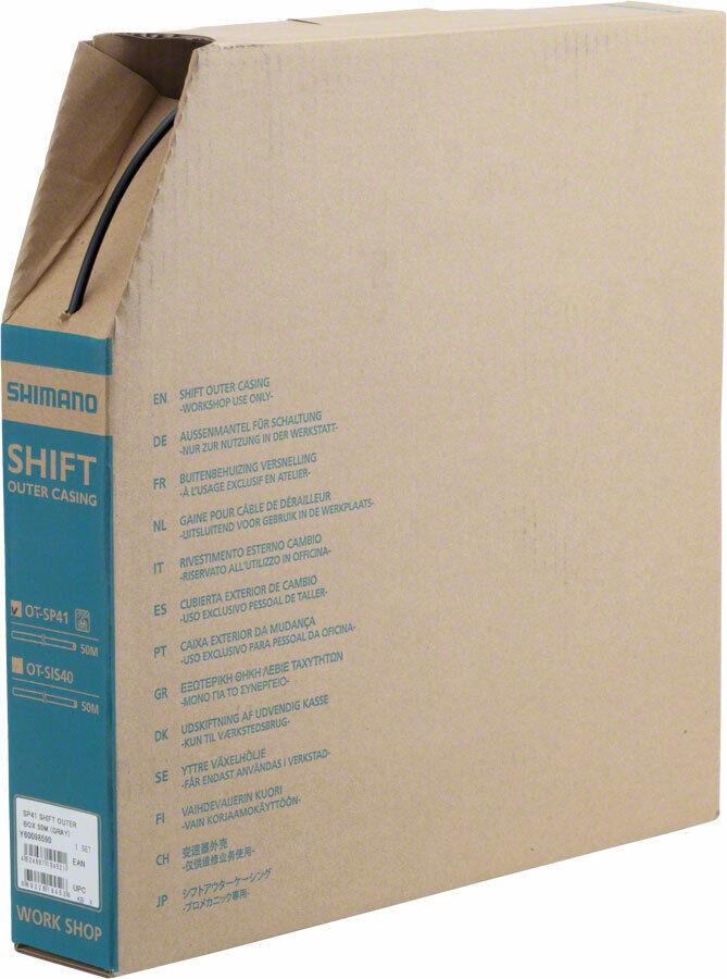 Shimano SP41  Desviador CocheCASA de la Caja de 4mm X 50m Negro  mejor calidad mejor precio