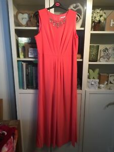 Z62 Maxi Dress Diamond Plus Neckline Coral Max Definizioni 20 ZgnqrZ
