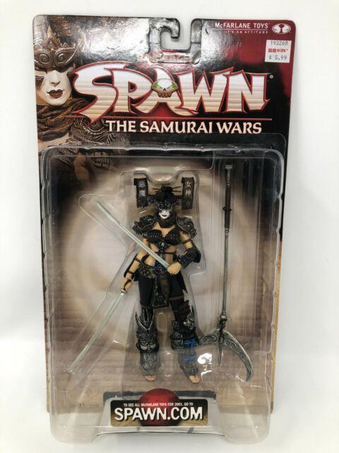 SPAWN Dark Ages Samurai Wars Series 19 Lotus Angel Warrior McFarlane Toys 2001