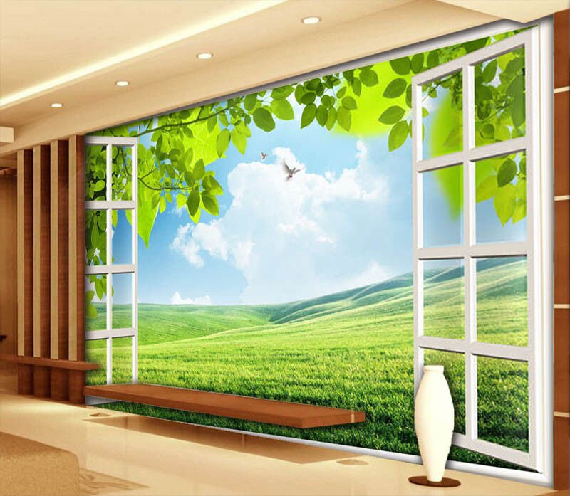 Soft Meadow 3D Full Wall Mural Photo Wallpaper Printing Home Kids Decoration