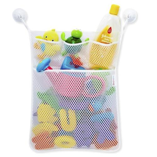 Bathroom Baby Shower Bath Bathtub Toy Mesh Net Storage Bag Organizer Holder GD