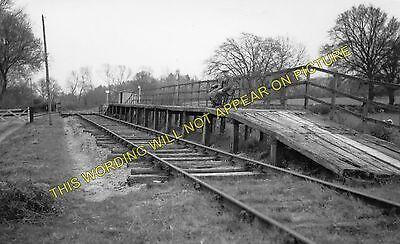 Line. Crew Llandrinio Road Railway Station Photo Kinnerley Jct 1 Criggion
